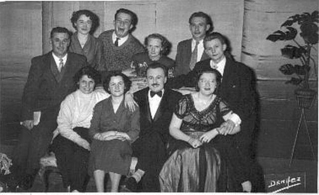 1957 Maitre Bolbek et son mari