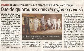 Article de presse Le Pays 28 mars 2013