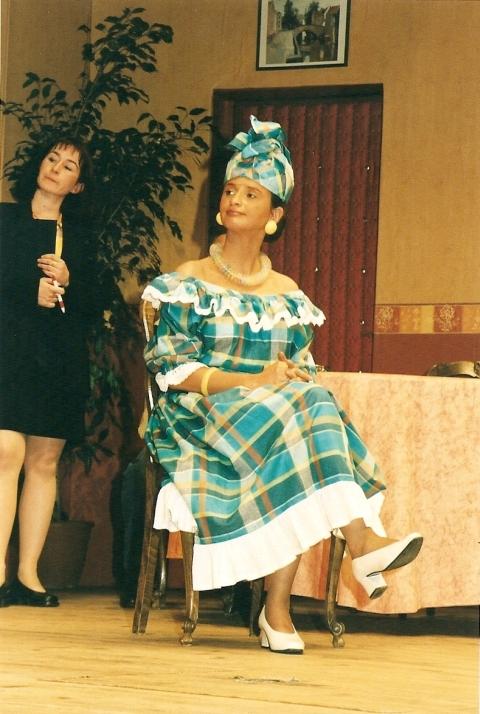 Aline Chambe,  Evelyne Wartelle