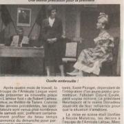 Article presse du 16 mars 2003