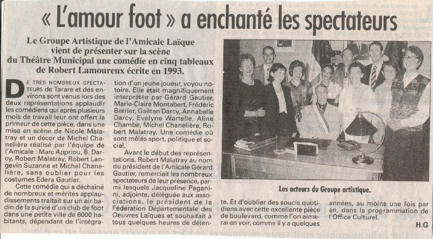 article presse mars 2003