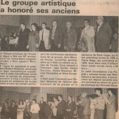 1988 - Honneur aux anciens