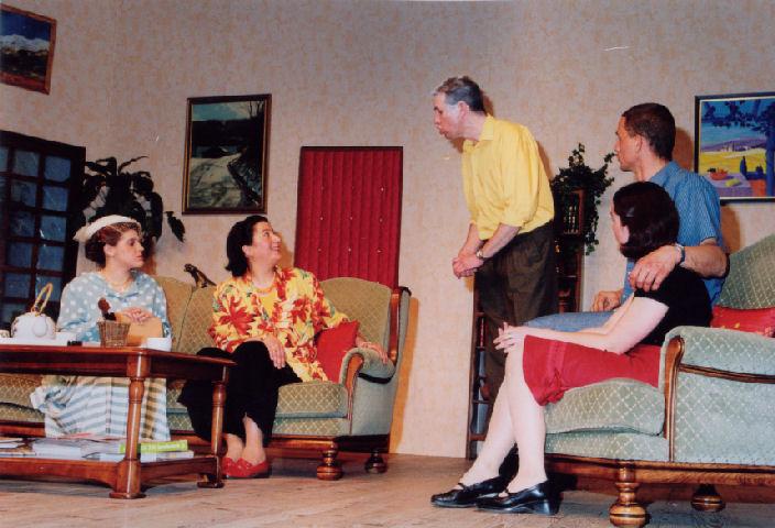 Claudia Courtoux, Marie-Claire Montabert, Frédéric Berrier, Aline Chambe, Gaétan Darcy