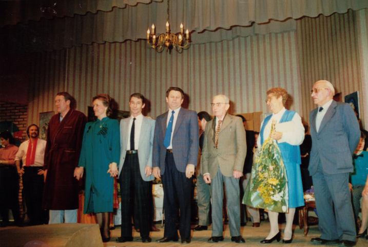 M. Chanelière, N. Malatray, G.Gautier, J. Bardet, R. Gaget, Mme Donzalla, P. Boge