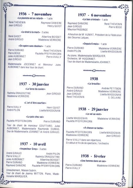 1936 - 1938