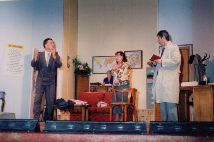 Marc Moiret, Michèle Wentzlow, Claudette Comoy, Gérard Gautier