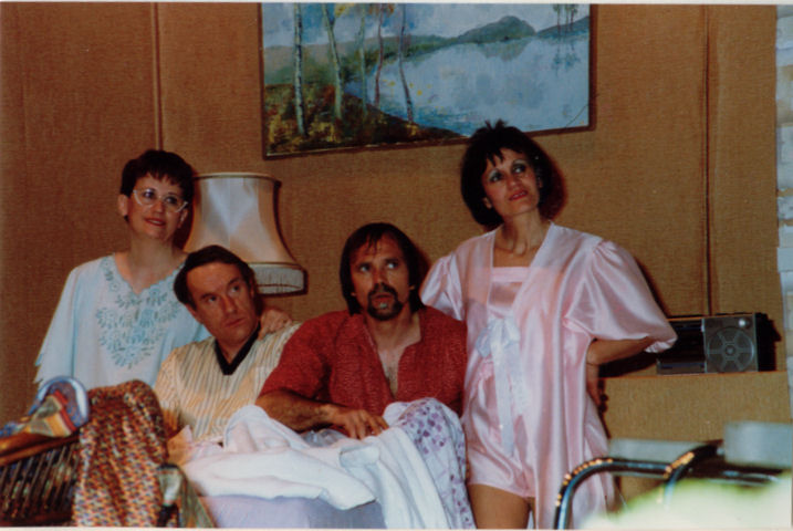 Denise et Michel Chanelière, Gérard Marion, Solange Frey