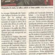Article de presse Le Pays